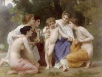 Bouguereau - Admiration (1897)