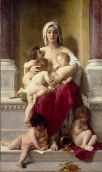 Bouguereau - Charity