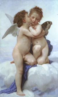 Bouguereau - Cupid and Psyche as Children (1890)