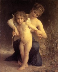 Bouguereau - Love Disarmed (1885)