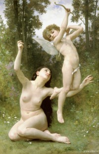 Bouguereau - Love Takes Flight ((1901)
