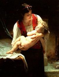 Bouguereau - Lullaby (1875)