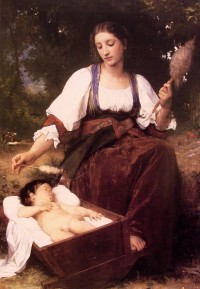 Bouguereau - Lullaby-2 (1875)