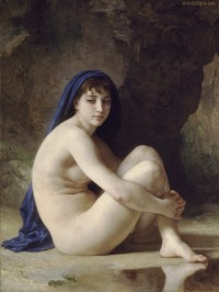 Bouguereau - Seated Bather (1884 )
