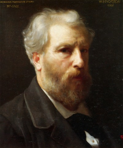Bouguereau - Self Portrait (1886)