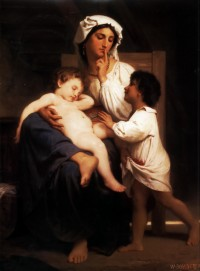 Bouguereau - Sleep (1864)