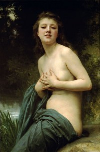 Bouguereau - Spring Breeze (1895)