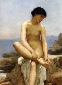 Bouguereau - The Bather (1879)