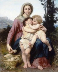 Bouguereau - The Holy Family (1863)