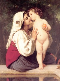 Bouguereau - The Kiss (1863)