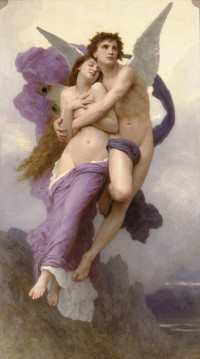 Bouguereau - The Rapture Of Psyche (1895)