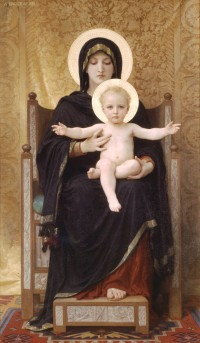 Bouguereau - The Seated Madonna (1888)