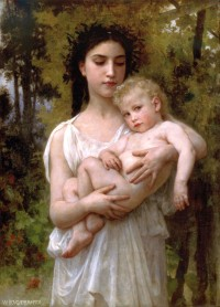 Bouguereau - The Younger Brother (1900)