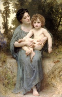 Bouguereau - The Younger Brother (1902)