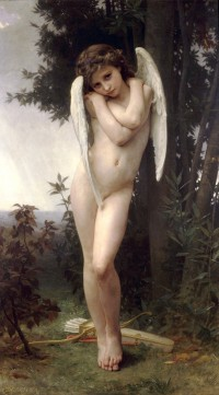 Bouguereau - Wet Cupid (1891)
