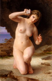 Bouguereau - Woman With Seashell (1885)