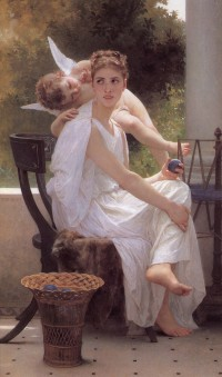 Bouguereau - Work Interrupted (1891)