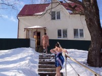 Winter Nudist Family-19
