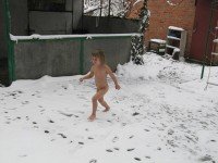 Winter Nudist Family-37
