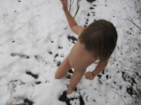 Winter Nudist Family-42